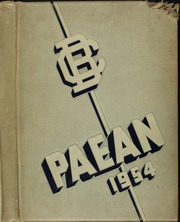 1954 Edition, Battle Creek Central High School - Paean Yearbook (Battle Creek, MI)