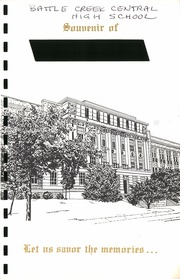 Page 1, 1955 Edition, Battle Creek Central High School - Paean Yearbook (Battle Creek, MI) online yearbook collection