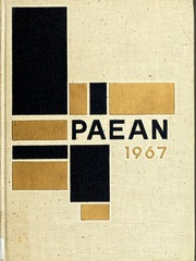 1967 Edition, Battle Creek Central High School - Paean Yearbook (Battle Creek, MI)