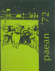 1972 Edition, Battle Creek Central High School - Paean Yearbook (Battle Creek, MI)