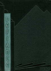 Page 1, 1934 Edition, Defiance High School - Panorama Yearbook (Defiance, OH) online yearbook collection