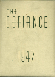 Page 1, 1947 Edition, Defiance High School - Panorama Yearbook (Defiance, OH) online yearbook collection