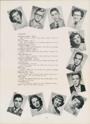 Page 17, 1950 Edition, Defiance High School - Panorama Yearbook (Defiance, OH) online yearbook collection