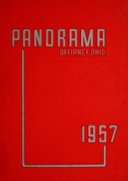 Page 1, 1957 Edition, Defiance High School - Panorama Yearbook (Defiance, OH) online yearbook collection