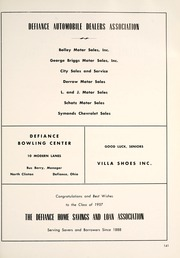 Page 145, 1957 Edition, Defiance High School - Panorama Yearbook (Defiance, OH) online yearbook collection