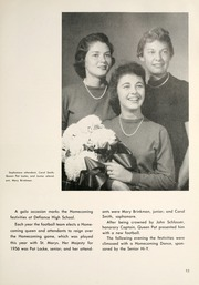 Page 17, 1957 Edition, Defiance High School - Panorama Yearbook (Defiance, OH) online yearbook collection