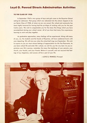 Page 8, 1958 Edition, Royerton High School - Panorama Yearbook (Royerton, IN) online yearbook collection