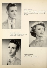 Page 12, 1955 Edition, Petroleum High School - Panther Yearbook (Petroleum, IN) online yearbook collection