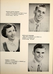 Page 13, 1955 Edition, Petroleum High School - Panther Yearbook (Petroleum, IN) online yearbook collection