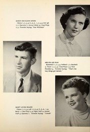 Page 14, 1955 Edition, Petroleum High School - Panther Yearbook (Petroleum, IN) online yearbook collection