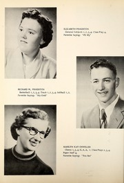 Page 16, 1955 Edition, Petroleum High School - Panther Yearbook (Petroleum, IN) online yearbook collection