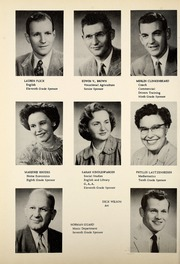 Page 8, 1955 Edition, Petroleum High School - Panther Yearbook (Petroleum, IN) online yearbook collection