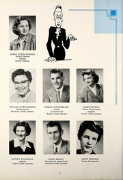 Page 10, 1956 Edition, Petroleum High School - Panther Yearbook (Petroleum, IN) online yearbook collection