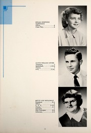 Page 17, 1956 Edition, Petroleum High School - Panther Yearbook (Petroleum, IN) online yearbook collection