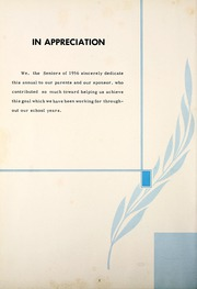 Page 6, 1956 Edition, Petroleum High School - Panther Yearbook (Petroleum, IN) online yearbook collection