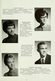 Page 17, 1963 Edition, Petroleum High School - Panther Yearbook (Petroleum, IN) online yearbook collection