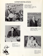 Page 10, 1960 Edition, Amphitheater High School - Panther Trails Yearbook (Tucson, AZ) online yearbook collection