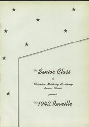 Page 5, 1942 Edition, Marmion Military Academy - Pass N Review Yearbook (Aurora, IL) online yearbook collection