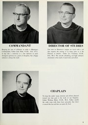 Page 13, 1964 Edition, Marmion Military Academy - Pass N Review Yearbook (Aurora, IL) online yearbook collection
