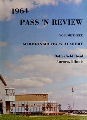 Page 7, 1964 Edition, Marmion Military Academy - Pass N Review Yearbook (Aurora, IL) online yearbook collection
