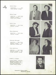 Page 13, 1953 Edition, Pennville High School - Pennant Yearbook (Pennville, IN) online yearbook collection