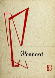 1963 Edition, Pennville High School - Pennant Yearbook (Pennville, IN)