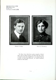 Page 12, 1920 Edition, Richmond High School - Pierian Yearbook (Richmond, IN) online yearbook collection
