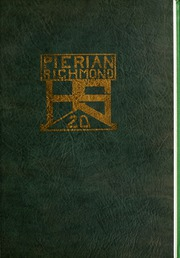 Page 5, 1920 Edition, Richmond High School - Pierian Yearbook (Richmond, IN) online yearbook collection
