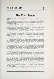 Page 13, 1937 Edition, Richmond High School - Pierian Yearbook (Richmond, IN) online yearbook collection