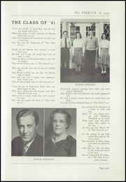 Page 11, 1941 Edition, Richmond High School - Pierian Yearbook (Richmond, IN) online yearbook collection