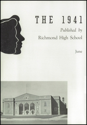 Page 4, 1941 Edition, Richmond High School - Pierian Yearbook (Richmond, IN) online yearbook collection