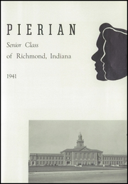 Page 5, 1941 Edition, Richmond High School - Pierian Yearbook (Richmond, IN) online yearbook collection