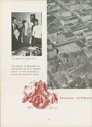 Page 12, 1954 Edition, Richmond High School - Pierian Yearbook (Richmond, IN) online yearbook collection