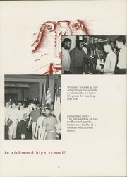 Page 7, 1954 Edition, Richmond High School - Pierian Yearbook (Richmond, IN) online yearbook collection