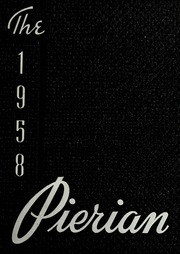 Richmond High School - Pierian Yearbook (Richmond, IN) online yearbook collection, 1958 Edition, Page 1