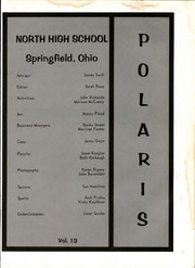 Page 5, 1973 Edition, Springfield North High School - Polaris Yearbook (Springfield, OH) online yearbook collection