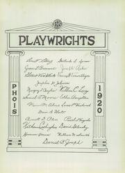 Page 11, 1920 Edition, Poughkeepsie High School - Phois Yearbook (Poughkeepsie, NY) online yearbook collection