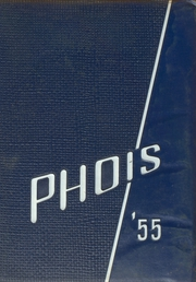 1955 Edition, Poughkeepsie High School - Phois Yearbook (Poughkeepsie, NY)