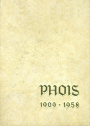 1958 Edition, Poughkeepsie High School - Phois Yearbook (Poughkeepsie, NY)