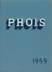 1959 Edition, Poughkeepsie High School - Phois Yearbook (Poughkeepsie, NY)