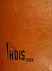 1963 Edition, Poughkeepsie High School - Phois Yearbook (Poughkeepsie, NY)