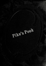 1958 Edition, Pike High School - Pikes Peek Yearbook (Indianapolis, IN)