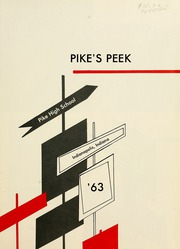 Page 5, 1963 Edition, Pike High School - Pikes Peek Yearbook (Indianapolis, IN) online yearbook collection