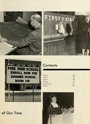Page 7, 1963 Edition, Pike High School - Pikes Peek Yearbook (Indianapolis, IN) online yearbook collection