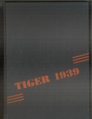 1939 Edition, McKinley High School - Tiger Yearbook (Marshfield, WI)