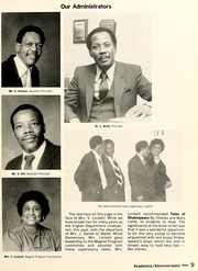 Page 13, 1983 Edition, Frederick Douglass High School - Polaris Yearbook (Atlanta, GA) online yearbook collection