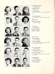 Page 14, 1951 Edition, George Washington High School - Post Yearbook (Indianapolis, IN) online yearbook collection