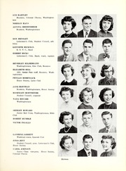 Page 15, 1951 Edition, George Washington High School - Post Yearbook (Indianapolis, IN) online yearbook collection
