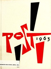 1963 Edition, George Washington High School - Post Yearbook (Indianapolis, IN)