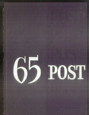 1965 Edition, George Washington High School - Post Yearbook (Indianapolis, IN)